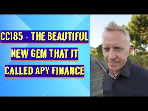 CC185 - The Beautiful New Gem That it Called APY Finance