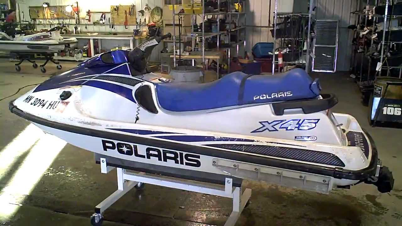 1999 Polaris Pwc X45 1200 Carb Model Lot 1053a Youtube