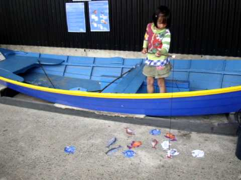 Fishing at the New Zealand Maritime Museum