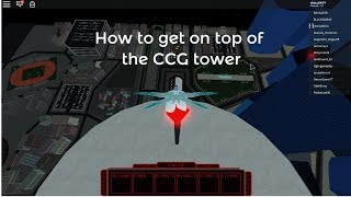 How to get on top of the CCG tower | roblox ( Ro ghoul )