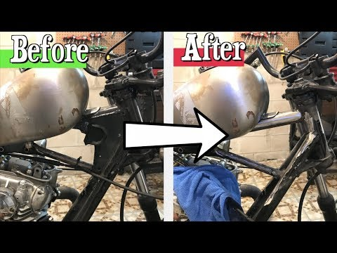 How to RUIN a perfectly good motorcycle | XS650 chopper build series part 9