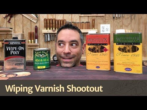 Wiping Varnish Shootout