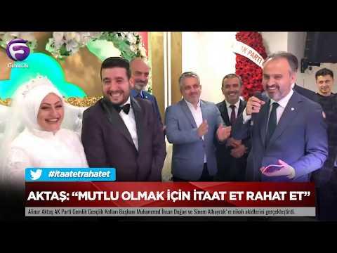 """Aktaş:""""Mutlu Olmak Için Itaat Et Rahat Et"""""""