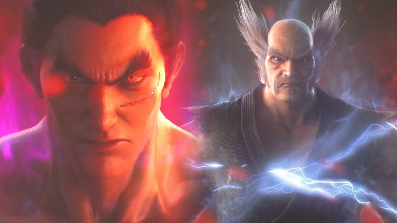 Kazuya Vs Heihachi Final Battle Story Mode Tekken 7 1080p 60fps