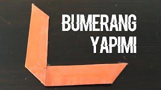 Kağıttan Basit Bumerang Yapımı - Basit Bumerang Nasıl Yapılır?