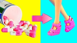 DIY Barbie Dresses | Making Easy Clothes for Barbie Doll