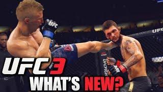 EA SPORTS UFC 3 - NEW Player Motion! Risk vs. Reward Damage System