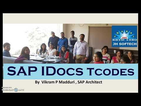 SAP All Modules Mandatory T Codes , IDocs