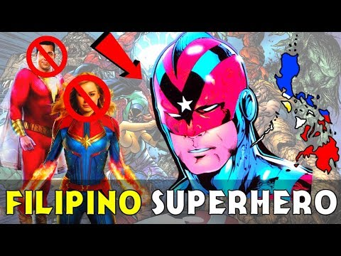 Meet CAPTAIN STEEL - DC's ONLY Filipino Superhero!