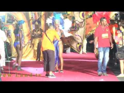 New Land tv vous presente le Carnaval  du Gosier en Guadeloupe du 20 01 2013