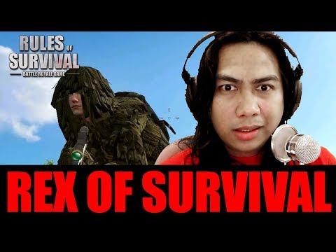 MAY CHEATER PA BA SA ROS? REX OF SURVIVAL with Sir Rex (Rules of Survival)