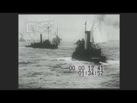 1920 America Cup Sailboat Race