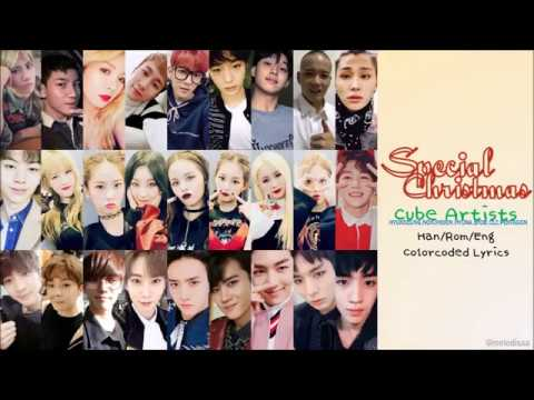 [HAN|ROM|ENG] CUBE Artists - Special Christmas Lyrics