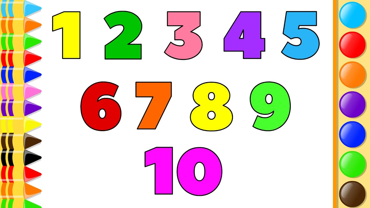 how to draw with numbers