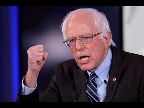 Special Bernie Sanders Interviewed by Amy Goodman at Philadelphia Free Library 2017 HD