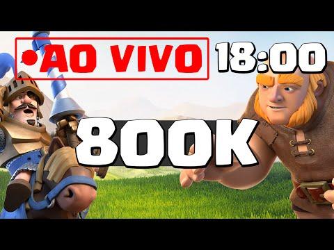 AO VIVO COM 800.000 INSCRITOS!