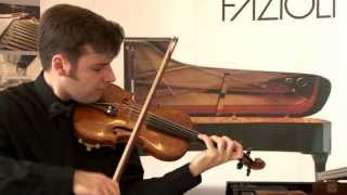 J.S.Bach Sonata for solo violin No.1 in G minor - Fugue (Nikolay Grabovskiy)
