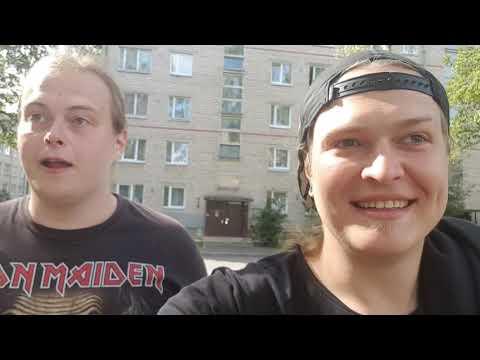 Daugavpils ВЛОГ ^^ Махоун & Сэнпай