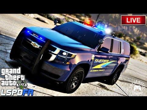 GTA 5 LSPDFR Live Stream #8 - Alameda County Sheriffs Office Live Stream.