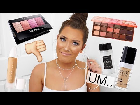 DON'T WASTE YOUR MONEY... MAKEUP I REGRET BUYING!