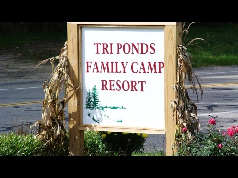 Camping at Tri Ponds Family Resort near Allegan, Mi