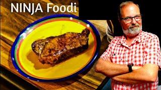 NINJA FOODI - NEW YORK STRIP Perfectly Cooked AIRFRYER - STEAK & POTATO Air Fryer Foodie Review