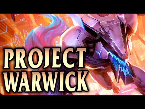 NEW PROJECT WARWICK! How to Carry with Warwick! - League of Legends S9