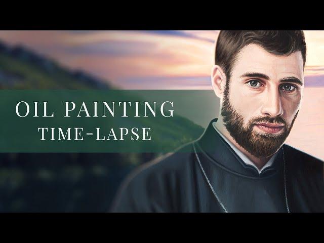 Saint Francis Xavier » Oil Painting Time-lapse by tiSpark