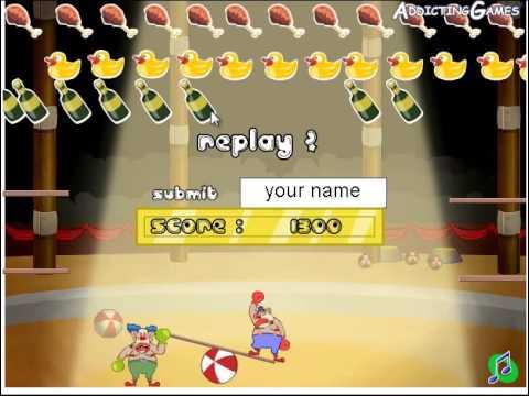 Цирк игра для детей онлайн