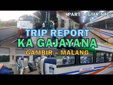 Sensasi Naik KA Gajayana 2017 Rangkaian Dulux [Trip Report Gambir - Malang 1]