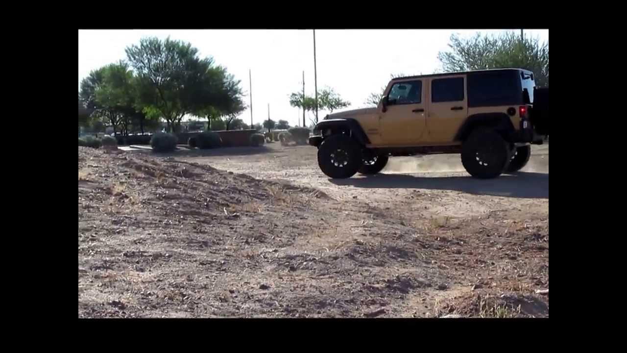 Larry Miller Jeep >> 2014 Jeep Wrangler Mopar lift kit - YouTube