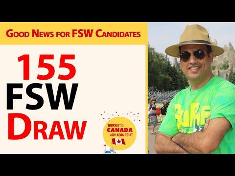 155 FSW Draw Of Canada Express Entry II Farhan Iqbal