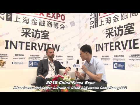 2015 China Forex Expo--Interview for  Holistic Forex in Shanghai