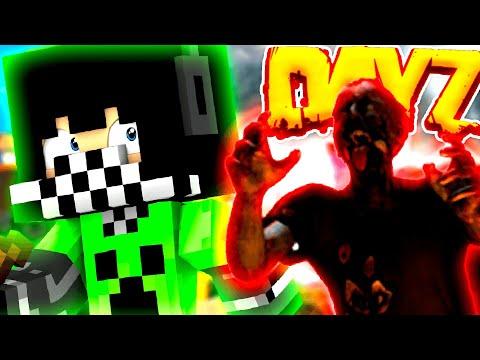 Видео: ВИРУС, КАК ВЫЖИТЬ СРЕДИ ЗОМБИ В МАЙНКРАФТ? ● Minecraft DayZ LuckyDayz