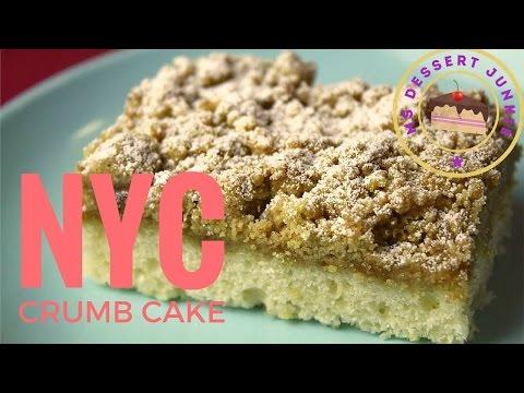 NEW YORK CITY CRUMB CAKE RECIPE - Streuselkuchen | MsDessertJunkie