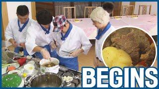 [RUNNINGMAN BEGINS] [EP 19-2]   FOOD COMPETION : Members making Korean traditional foods🍲 (ENG SUB)