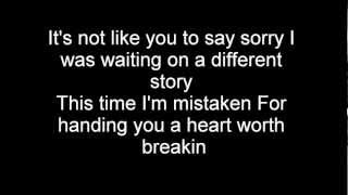 Repeat youtube video Nickelback- How you remind me- lyrics (HQ) (HD)