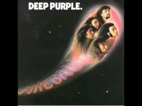 Deep Purple Fireball full album . original disc vinyl 1971
