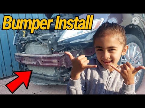 How to Install front Bumper on Lincoln Mkx Video2