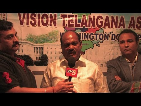Bajireddy Govardhan Reddy Gets Grand Welcome in Virginia : TV5 News