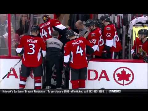 NHL Goalies Getting Hit