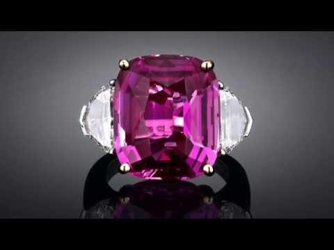 Bubblegum Pink Sapphire Ring