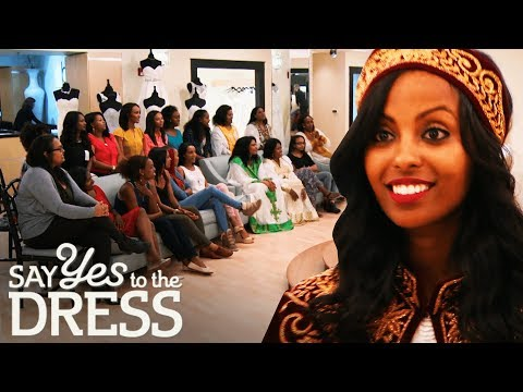 Bride Brings a 20 Person Entourage to Her Appointment! | Say Yes To The Dress Atlanta. http://bit.ly/2JHxj9e