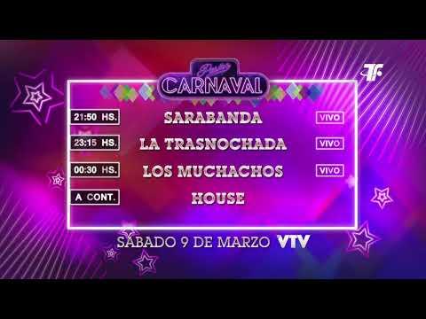 Agenda Carnaval – Sábado 9 de Marzo