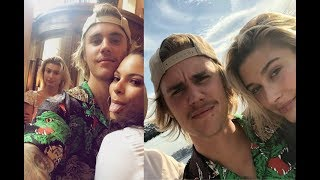 Justin Bieber with Hailey Baldwin & taking pictures with fans in New York - June 16, 2018