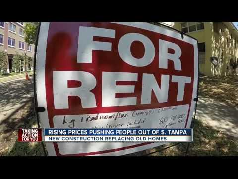 Rising prices pushing people out of South Tampa
