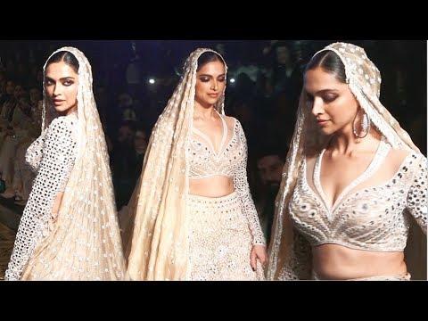 Deepika Padukone Looks BEAUTIFUL As Bride For Abu Jani & Sandeep Khosla Ramp Walk 2019 Mp3