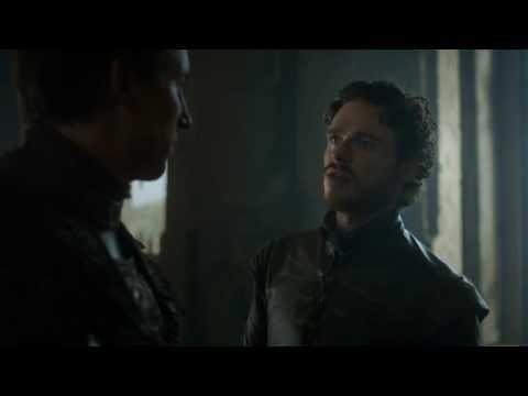 Game Of Thrones Season 3 - Roob Stark vs Edmure Tully