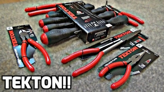 Tekton Tool Review! (Pliers + Screwdrivers)