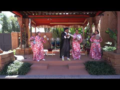 B'net Al Houwariyate performance at Epcot's Morocco Pavilion